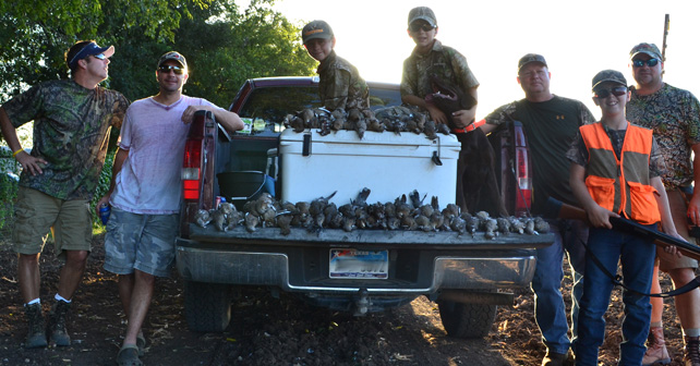 Trophy Pics of Texas Quail Hunting